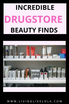 Are you overpaying for your skincare and makeup? This post covers my favorite drugstore dupes on the market! Affordable beauty products. #drugstoredupes #skincare #makeup #cheapbeautyproducts