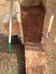 Pinestraw Rake In Dump Position Pinestraw Harvest