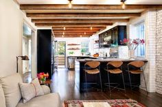 open kitchen http://www.blairharris.com/cobble-hill-townhouse#/id/i6232708