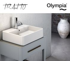 New washbasins collection: Tratto by Olympia Ceramica
