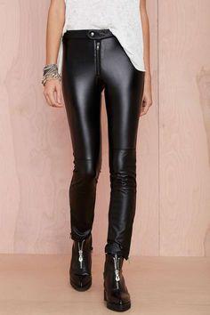 Nasty Gal Sinner Vegan Leather Leggings | Shop Pants at Nasty Gal