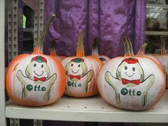 Decorated Pumpkins Hicks Nurseries
