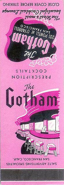 The Gotham Cocktail Lounge - San Francisco