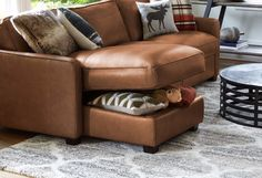 Sold Nice Camel Saddle Stool With Leather Cushion The