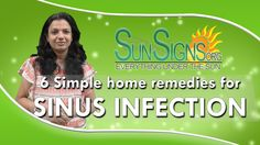 Top 6 Home Remedies For Sinus Infections