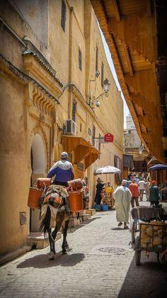 Fes Maroc - Medina