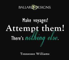 make voyages  I  ballarddesigns.com
