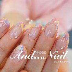 ★★★ ドリームネイル大人気 . #フレンチネイル #カラフルネイル #パステルネイル #ドリームネイル #シンプルネイル #オフィスネイル #春ネイル #夏ネイル #ゆめかわいい #ゆめかわいいネイル #dream #beauty #instagood #colorful #pastel #simple #japanesenails #kawaii #colorfulnails dreamnails #spring #springnails #春 #夏 #デート #女子会 #ハンド #シンプル #フレンチ #ビジュー #ミディアム #カラフル #パステル #ジェルネイル #お客様 #白川麻里★神戸アンドネイル #ネイルブック