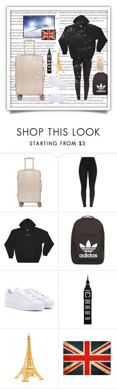 """""""Vacation to 🇬🇧 & 🇫🇷"""" by queen-bellaa ❤ liked on Polyvore featuring CalPak and adidas"""