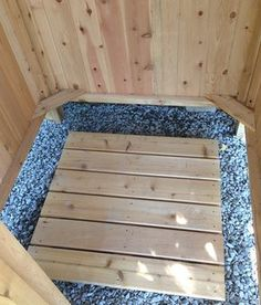 Free Outdoor Shower Wood Plans Diy Pinterest