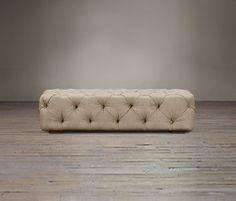 Restoration Hardware Soho Tufted | lounge set (ottoman)*