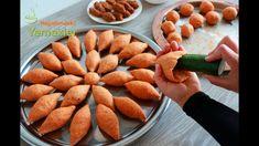 DAĞILMAYAN ÇATLAMAYAN EN KOLAY İÇLİ KÖFTE TARİFİNİ YAPTIM ✅SALATALIKLA İ... Pizza Pastry, Turkish Delight, Iftar, Carrots, Almond, Recipies, Food And Drink, Soup, Pasta