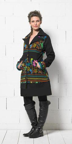 Colecţia noastră s-a îmbogăţit cu un nou pardesiu etnic chic de primăvară! ㋡ `•..•´  ✿ www.hainehippie.ro/67-pardesie-jachete-veste ✿ Transport GRATIS la 2 produse din: haine, şaluri, genţi ✿ Livrare în 24h ✿ www.facebook.com/hainehippie