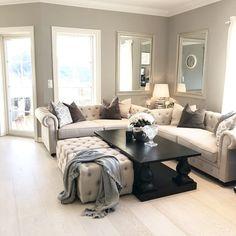 @hanne.k.haukaas Living Room Inspiration, My House, Couch, Interior, Furniture, Instagram, Home Decor, Random, Pretty