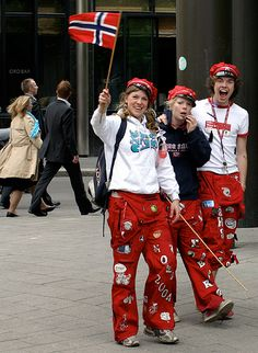 The Russ | Russ is a tradition and cultural phenomenon in Norway. Students who graduate from upper secondary school are called russ and celebrate with the characteristic festivities (russefeiring) during the first few weeks of May.