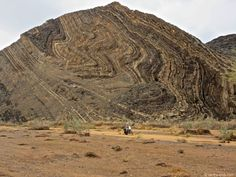 The Ugab River valley of Namibia dissects the incredible folded geology of Namibia's mountainous scenery