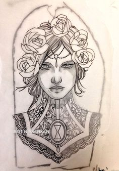 Done by Justin Hartman. Pin Up Tattoos, Head Tattoos, Body Art Tattoos, Sleeve Tattoos, Cool Tattoos, Tatoos, Dibujos Tattoo, Desenho Tattoo, Tattoo Sketches