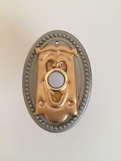 Alice in Wonderland doorbell by Occulence on Etsy https://www.etsy.com/listing/228754863/alice-in-wonderland-doorbell
