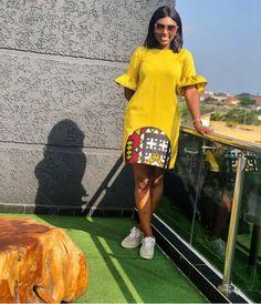 African Fashion Ankara, Latest African Fashion Dresses, African Print Fashion, Africa Fashion, Short African Dresses, African Print Dresses, Short Gowns, Ankara Dress Styles, Africa Dress