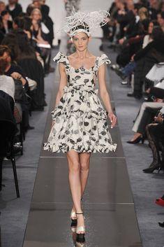 Chanel Spring 2009 Couture Fashion Show - Natalia Belova (NATHALIE)