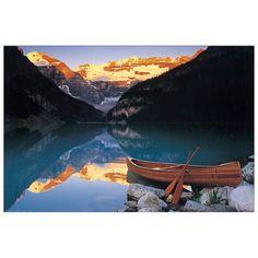 ANONYMOUS - Canoe on lake Louise 90x60 cm #Fotografie #Photos #artprints #interior #design #Lake Scopri Descrizione e Prezzo ---> http://www.artopweb.com/categorie/fotografie/EC22112