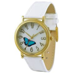 Butterfly Watch Light blue by SandMwatch on Etsy, $19.90