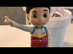 how to make Ryder PAW PATROL cake topper fondant tutorial pasta di zucchero - YouTube