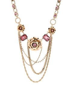 Betsey Johnson necklace.  Love this