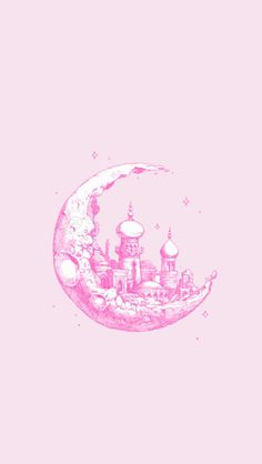 : Photo Moon + Drawing + Handmade + Illustration + Castle + 1001 nights + Stars You are able to work with the pencil drawing tec. Art And Illustration, Hipster Illustration, Hipster Drawings, Art Drawings, Hipster Doodles, Inspiration Art, Art Inspo, Desenho Tattoo, Art Design
