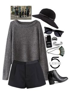 American Horror Story Coven Witch Style - BlackFive {142} by style-and-chic-boutique on Polyvore featuring H&M, Marni, David Yurman, Eric Javits, River Island, Iphoria and Coven