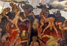 Firenze Duomo, Last Judgement, Giorgio Vasari   #TuscanyAgriturismoGiratola