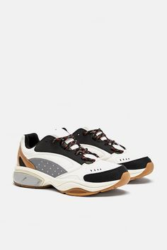 Image 2 of SNEAKERS WITH THICK SOLES from Zara Vegan Fashion 1890d5d51