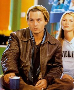 Johnny Depp + Kate Moss