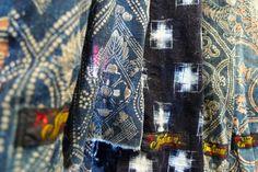 Boro Ties (Japanese fabric)