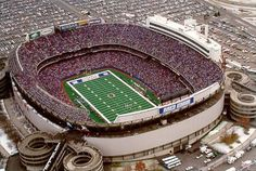 The old Giants Stadium, E. Rutherford, NJ. Probably one of my favorite places in the world. I've had so many great times there.