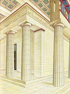 Parthenon, Greek Art, Ancient Greece, Civilization, Architecture, Louvre, Places, Mythology, Buildings