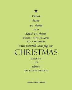Christmas Tree Poem Printable - would work well inside cards.