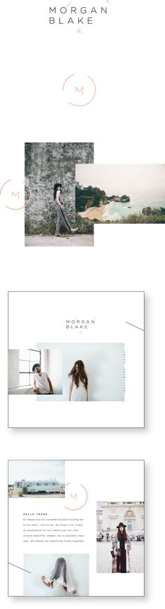 Mooi clean voor een mailing - Moe Blake - LIZ DESIGNS THINGS | the portfolio of liz grant