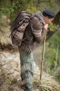 leather and canvas backpack Notless Orequal Canvas Backpack, Travel Backpack, Travel Bags, Rugged Men, Cool Backpacks, Leather Backpacks, Canvas Leather, Leather Bags, Leather Craft