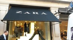 Stunning Victorian Shop Blinds for Zara by Deans Blinds And Awnings