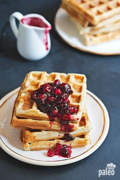 Giddy Up Gluten Free: GF CF Belgian Waffles. Gluten Free Gourmand: Easy Waffles: A Gluten Free Dairy . Fluffy Gluten Free Waffles Great Gluten Free Recipes For . Easy Waffle Recipe, Waffle Recipes, Paleo Recipes, Low Carb Recipes, Real Food Recipes, Cooking Recipes, Yummy Food, Paleo Dessert, Paleo Sweets