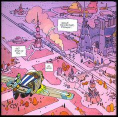 Bado, le blog: Mon panthéon (7): Mœbius