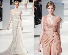 ellie saab 2011 -- want the dress on the left