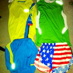 New singlets and shorts for the summer!