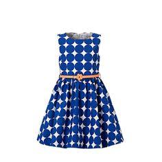 Palomino C&A meisjes jurk, uitgevoerd met onderjurk (100% katoen) €24,90