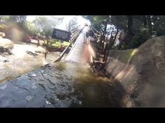 Gold Reef City   Log Ride 2of2 This is no:4 on the list and the best video I can find for this log flume.