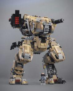 Scavrat Destroyer - Soon Cobb Lego Mecha, Lego Titanfall, Lego Design, Legos, Lego Transformers, Lego Bots, Lego Machines, Amazing Lego Creations, Lego Ship
