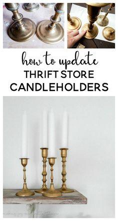 thrift store makeove