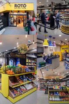 Roto Dinamic Store as an Example of Experiential Design Retail Concepts, Retail Space, Experiential, Retail Design, Store, Larger, Shop, Retail