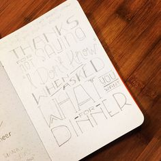 """Thanks for not saying """"I don't know"""" when asked what's for dinner -Pet Peeve Thank You Card  https://www.etsy.com/shop/MCreativeJ #handlettering #petpeeve #typography #design #lettering #mcreativej #papergood #etsy #sketch"""